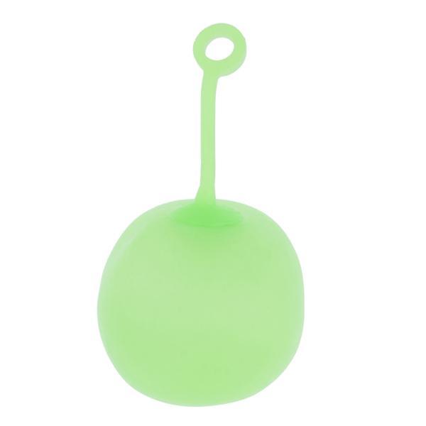 子供のためのストレッチスクイーズバウンスボール感覚玩具パーティーはLグリーンLを支持します