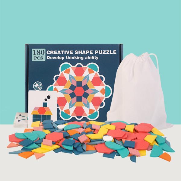 子供木製ジグソーパズルベビー教育学習玩具4-6歳の知能開発のおもちゃ