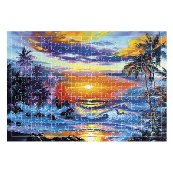 油絵ジグソーパズル試験管カプセルパズルゲーム教育玩具水と空