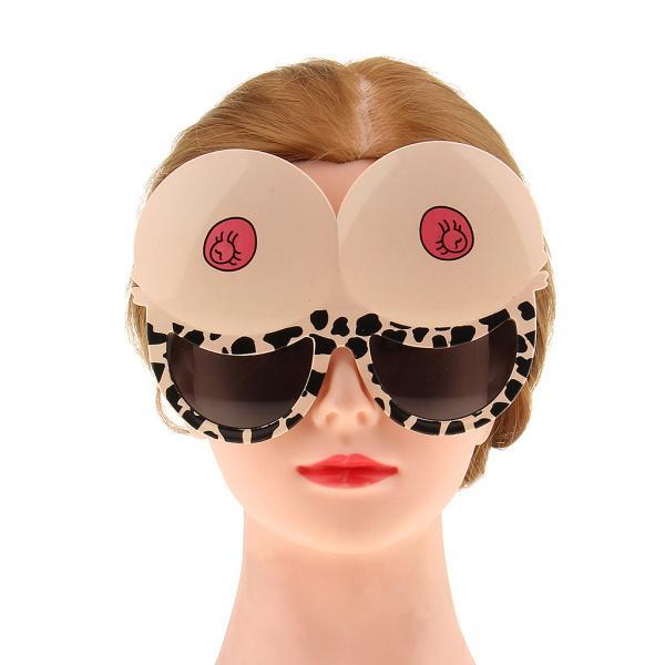 ノベルティ ブラジャーデザイン 眼鏡 メガネ ユニセックス ファンシードレス ヘンパーティー 面白い 衣装 アクセサリー