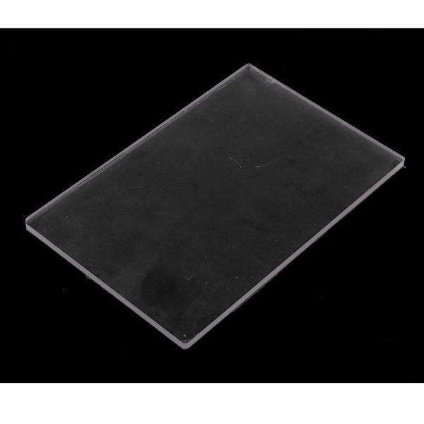全2種選べ クリア 粘土陶器 耐久性 プレート 彫刻ツール アクリル素材製 プレッシャー DIYツール  - 10X10X0.4CM|stk-shop|03