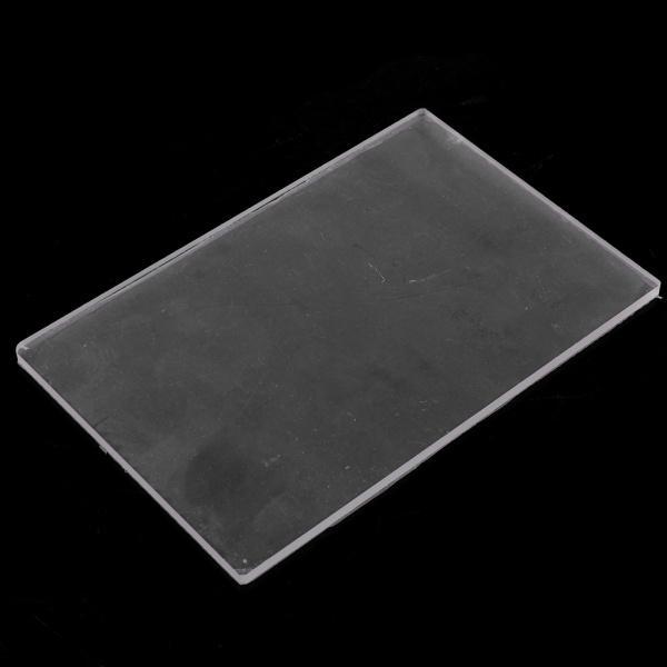 全2種選べ クリア 粘土陶器 耐久性 プレート 彫刻ツール アクリル素材製 プレッシャー DIYツール  - 10X10X0.4CM|stk-shop|05