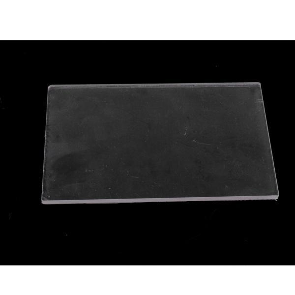全2種選べ クリア 粘土陶器 耐久性 プレート 彫刻ツール アクリル素材製 プレッシャー DIYツール  - 10X10X0.4CM|stk-shop|06