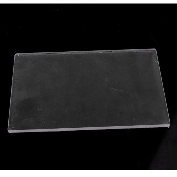 全2種選べ クリア 粘土陶器 耐久性 プレート 彫刻ツール アクリル素材製 プレッシャー DIYツール  - 10X10X0.4CM|stk-shop|07