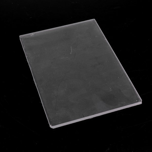 全2種選べ クリア 粘土陶器 耐久性 プレート 彫刻ツール アクリル素材製 プレッシャー DIYツール  - 10X10X0.4CM|stk-shop|09