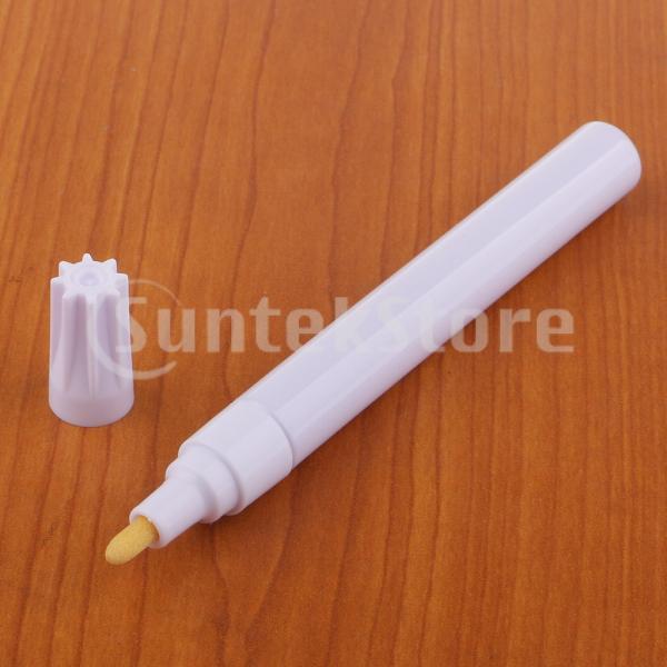 1ピース防水マーキングペン永久ペイントマーカータイヤアートクラフトホワイト
