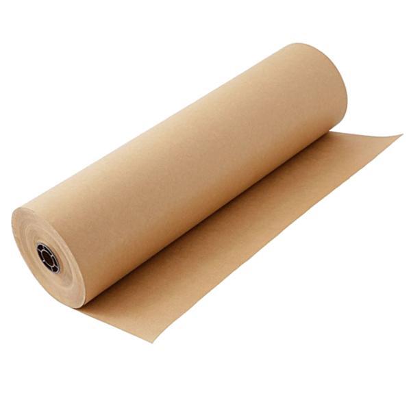 茶色 クラフト紙 ラッピングペーパー ロール 無地 包装紙 アートクラフト 業務用 30cm幅 長さ30m