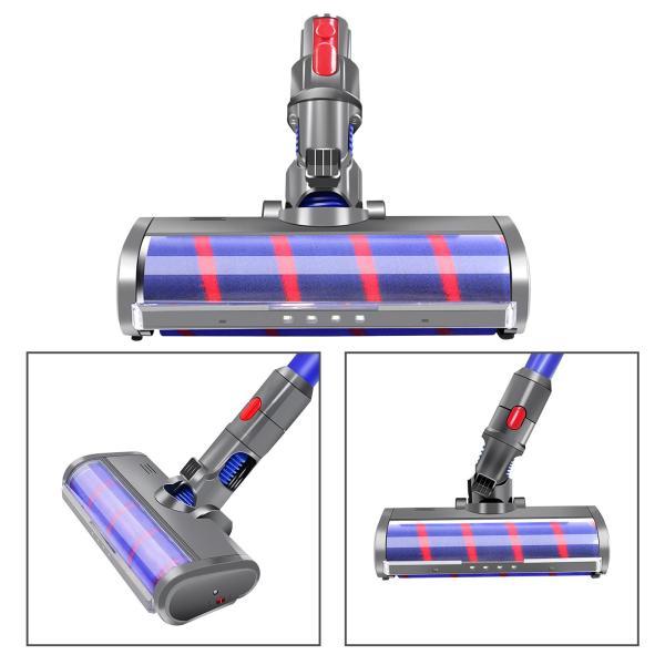ダイソン V7 V8 V10 V11 ソフトローラクリーナーヘッド 交換用 コードレススティック掃除機 インストールが簡単 フロアヘッド