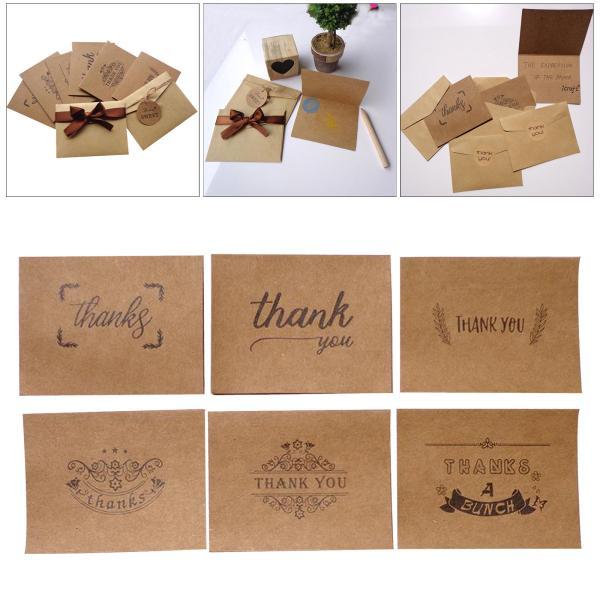 ブランクカードと封筒3パック.4 × 6ヘビー級クラフト紙つ折りストックとあなたのカードに感謝用封筒 & すべての機会
