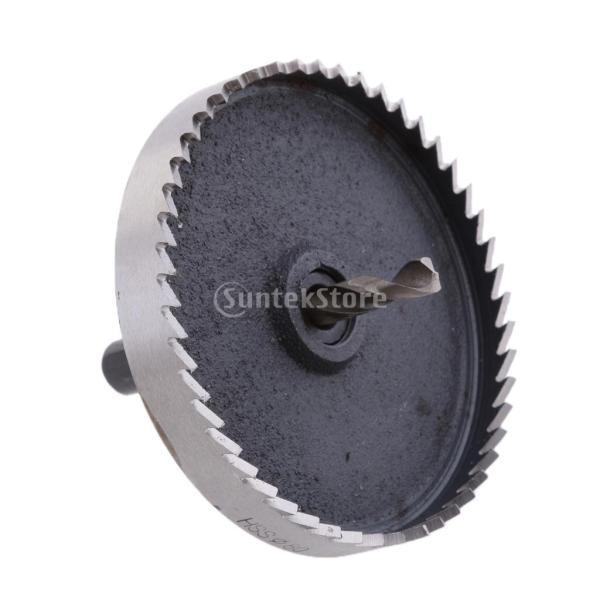 金属 切断 高速スチール ドリルビット ホール ソーカッターセット 17サイズ選ぶ - 80mm|stk-shop|08