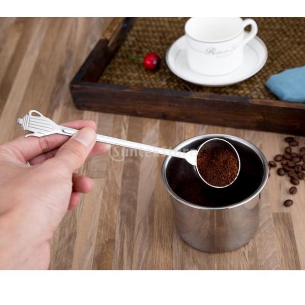 キッチン 測定スプーン コーヒー豆 スクープ ステンレス ミルクパウダー 調味料 スパイス 粉末