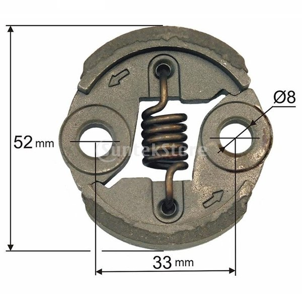 クラッチ 23CC 26CC 32CC 34CCヘッジストリングトリマー対応 交換パーツ GTSクラッチ 高品質