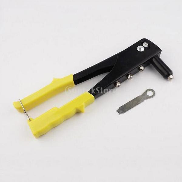 高品質 ハンドリベッター リベッター 修理工具 防錆性 4ヘッド|stk-shop|02