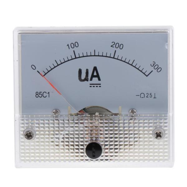 正確な85C1-uAパネルDCアンペアテスター電流測定ツール0-300uA