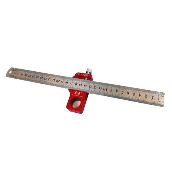 90度 45度 マーキング 木工スクライバ  ケガキ工具 大工 定規 測定工具 アルミ合金