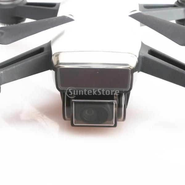 DJI Spark 用 カメラカバー 前面センサー スクリーン ジンバル キャップ 全3色 - グレー stk-shop 06