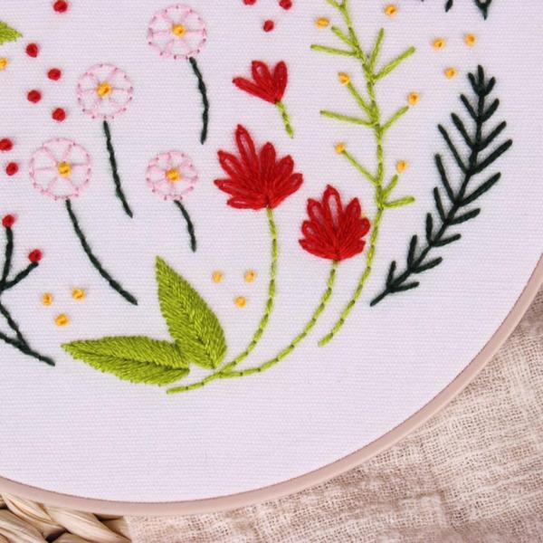 全3スタイル選べる 初心者 現代手刺繍キット 刺繍サンプラーキット 素晴らしいギフト  - #3|stk-shop|12
