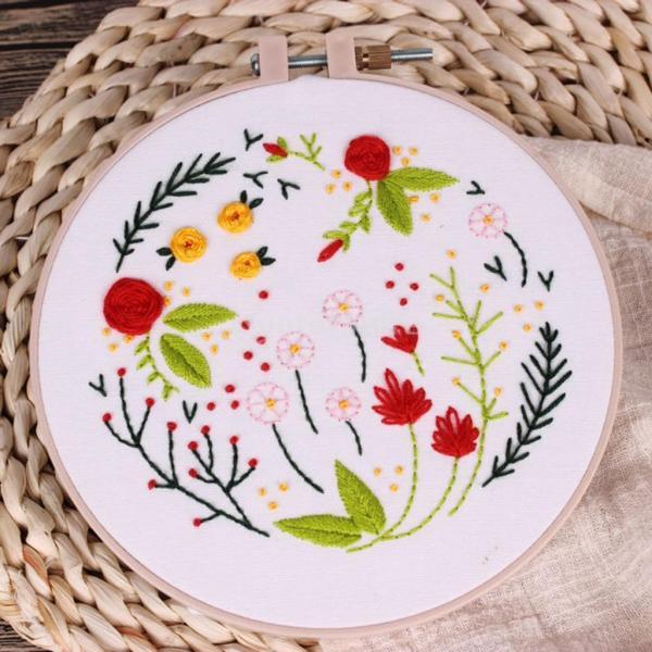 全3スタイル選べる 初心者 現代手刺繍キット 刺繍サンプラーキット 素晴らしいギフト  - #3|stk-shop|06