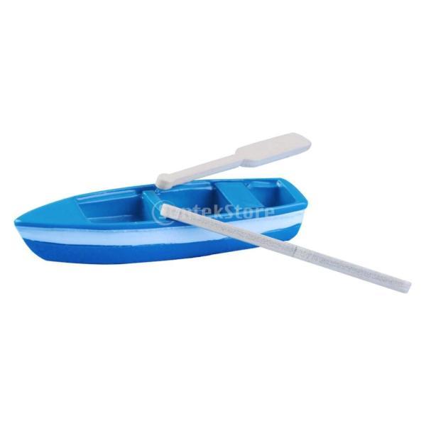 樹脂 ボートフィギュア マイクロランドスケープ 装飾