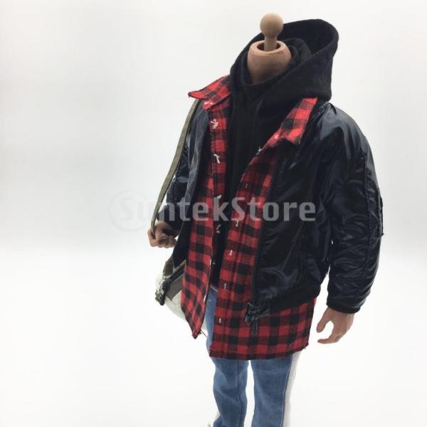 人形服スーツジャケットパーカーシャツパンツケン人形アクションフィギュア|stk-shop|04