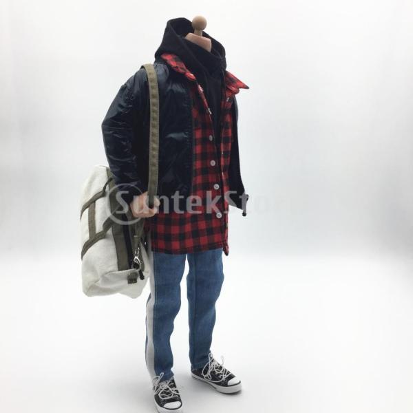 人形服スーツジャケットパーカーシャツパンツケン人形アクションフィギュア|stk-shop|07