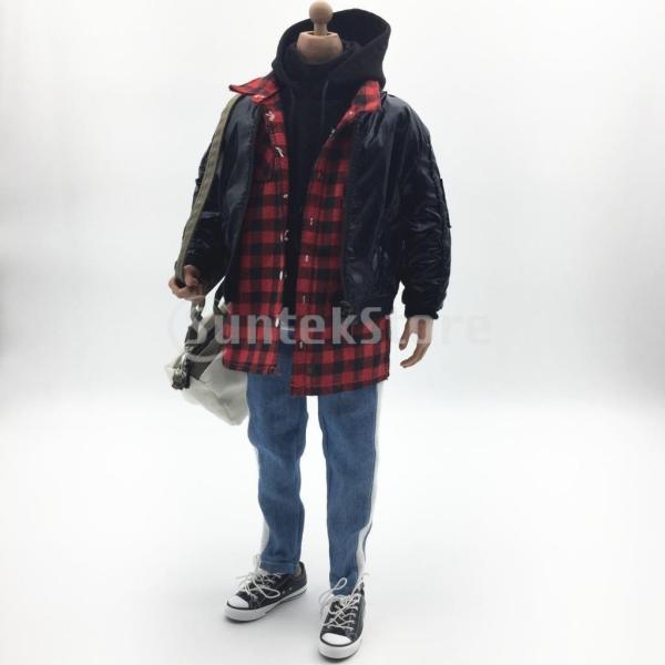 人形服スーツジャケットパーカーシャツパンツケン人形アクションフィギュア|stk-shop|08
