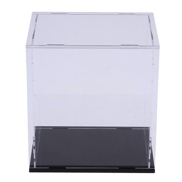 クリア ディスプレイボックス ショーボックス キューブ アクションフィギュア用 全2サイズ  - 18×14×30cm|stk-shop