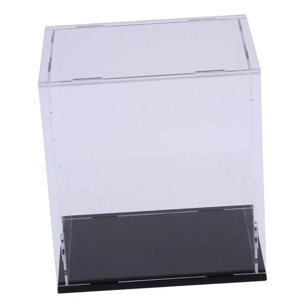 クリア ディスプレイボックス ショーボックス キューブ アクションフィギュア用 全2サイズ  - 18×14×30cm|stk-shop|02