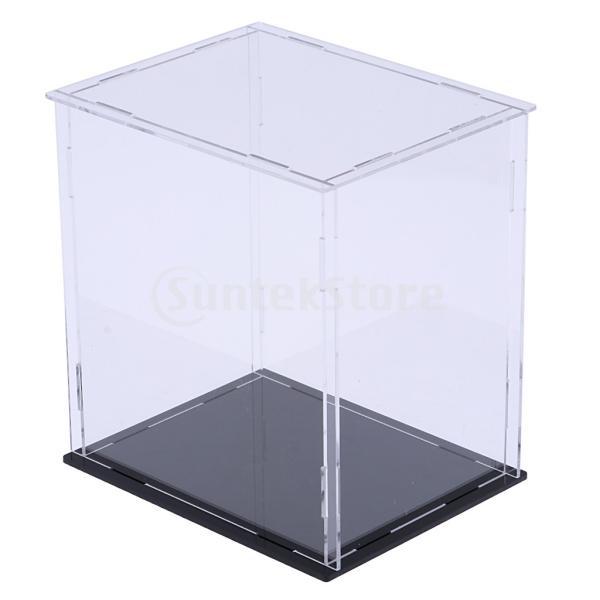 クリア ディスプレイボックス ショーボックス キューブ アクションフィギュア用 全2サイズ  - 18×14×30cm|stk-shop|03