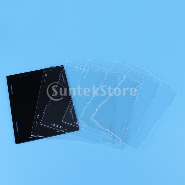 クリア ディスプレイボックス ショーボックス キューブ アクションフィギュア用 全2サイズ  - 18×14×30cm|stk-shop|04