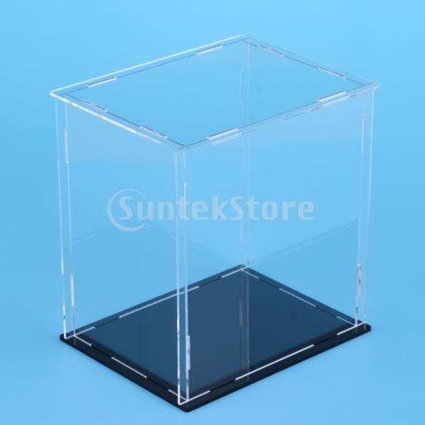 クリア ディスプレイボックス ショーボックス キューブ アクションフィギュア用 全2サイズ  - 18×14×30cm|stk-shop|05