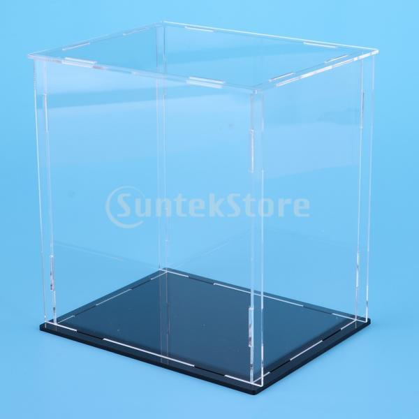 クリア ディスプレイボックス ショーボックス キューブ アクションフィギュア用 全2サイズ  - 18×14×30cm|stk-shop|06