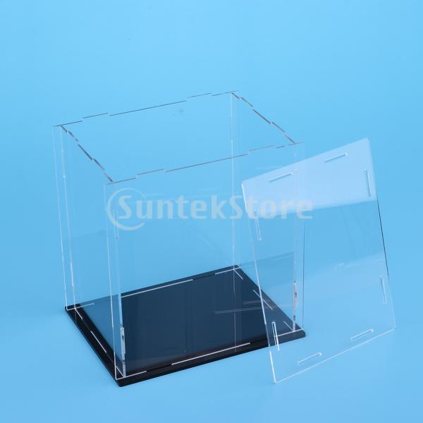 クリア ディスプレイボックス ショーボックス キューブ アクションフィギュア用 全2サイズ  - 18×14×30cm|stk-shop|07