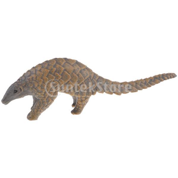 動物モデルプラスチックフィギュア家の装飾装飾品置物全12種類-センザンコウ