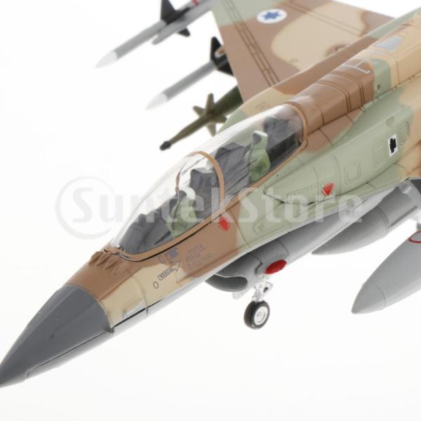 1:72スケールダイキャストミリタリーJF-16Iファイティングファルコン航空機モデル(スタンド付き)