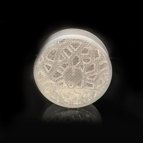 ポータブルラウンドプラスチック葉巻加湿器ヒュミドールガジェットたばこシガー加湿器耐久性のある実用的な2.20x2.20x0.83インチ