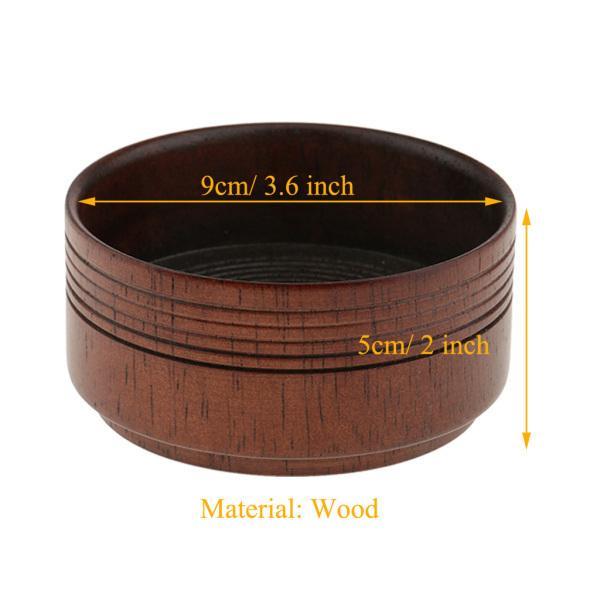 男性 シェービングマグ レトロ 木製 ひげ剃り ブラシ ソープ マグ カップ 実用品|stk-shop|04