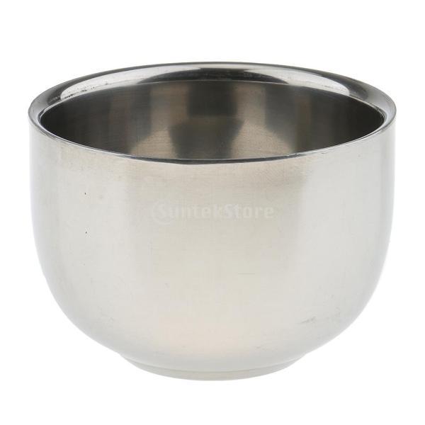 シェービングブラシセット ステンレス製スタンド ブラシ 石鹸 シェイプのマグカップ 髭剃り ひげ  メンズ 4点セット |stk-shop|06