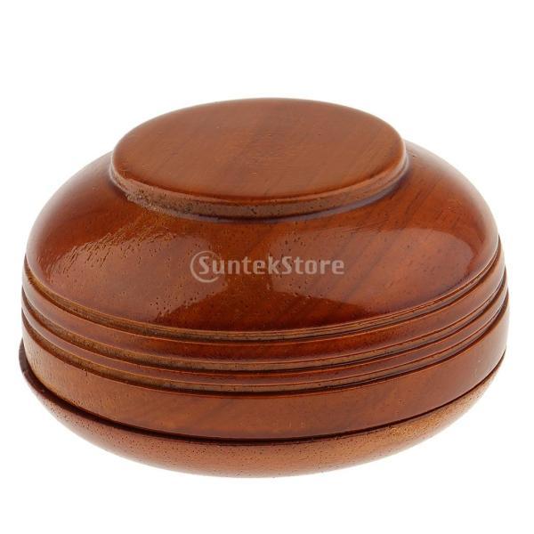 素晴らしい デザイン 古典的 木製 メンズ シェービングボウル マグカップ 石鹸 クリームカップ 蓋付き 理髪ツール |stk-shop|05