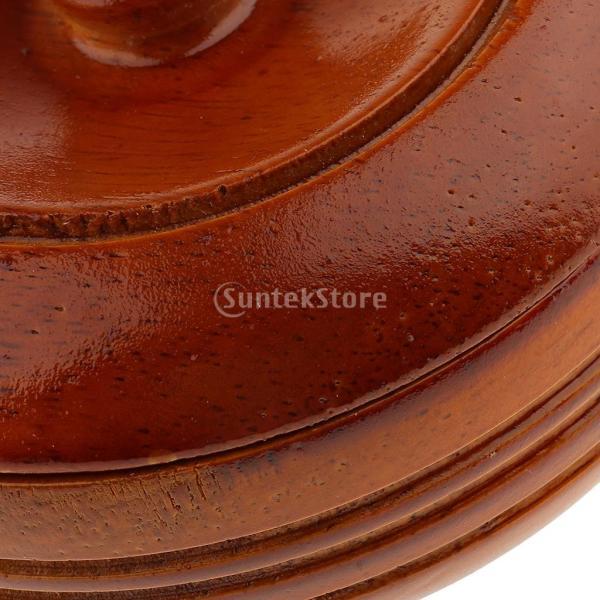 素晴らしい デザイン 古典的 木製 メンズ シェービングボウル マグカップ 石鹸 クリームカップ 蓋付き 理髪ツール |stk-shop|07