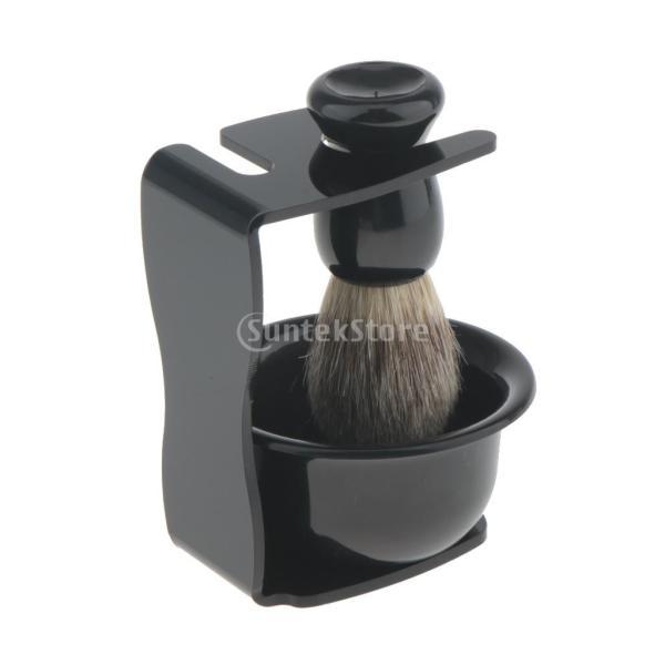 メンズ 高品質 シェービングブラシ マグカップ シェービング スタンド ボウル 男性 ギフト|stk-shop|05