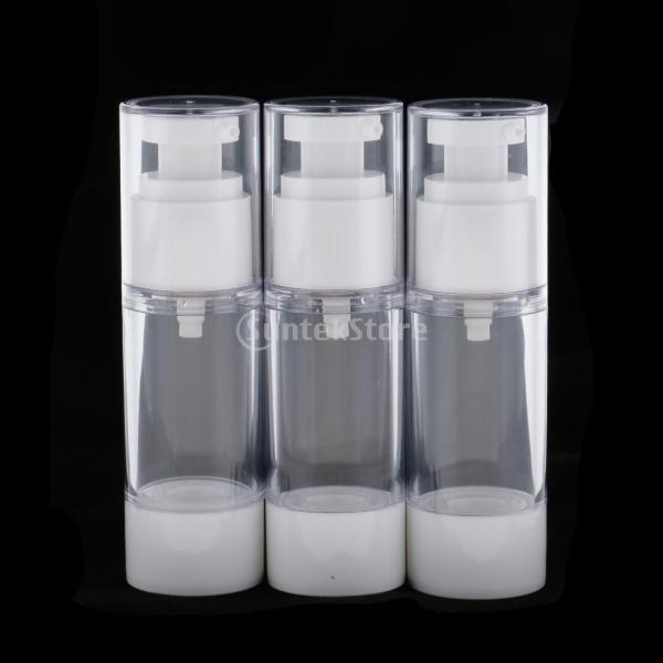 空ボトル スプレーボトル 漏斗 真空ローション 化粧 クリーム ボトル ポンプ ディスペンサー 30ml  |stk-shop|07