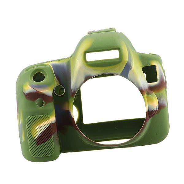 Lovoski  Canon EOS 6D用 シリコン製 カメラ保護ケース 保護カバー 指紋防止 全2色 - カモ