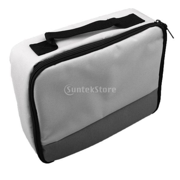 Lovoski  多機能 収納ケース カメラ CFカード パワーバンク 収納バッグ 全3色 - グレー