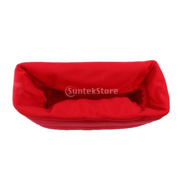 Lovoski  耐震 軽量 DSLRカメラバッグ カメラ保護バッグ 携帯便利 全4色 - 赤