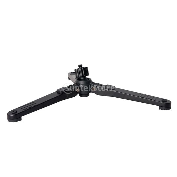 Fenteer 耐久性 互換性  旅行携帯便利 折り畳み式 カメラ三脚 360度回転ベース 3/8インチネジ 最大荷重30kg