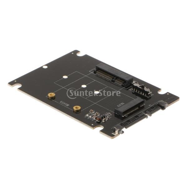 Lovoski  mSATA/M.2 2242/2260/2280(NGFF)→ SATA SSD  コンバータアダプタカード