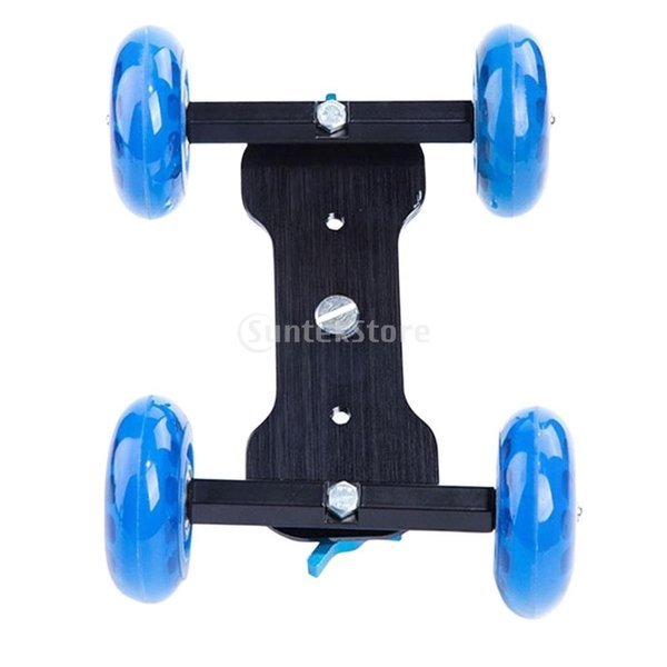 Lovoski ドリー スケーター 卓上 移動 スライダー カー ビデオ トラック レール スタビライザー カメラに適用