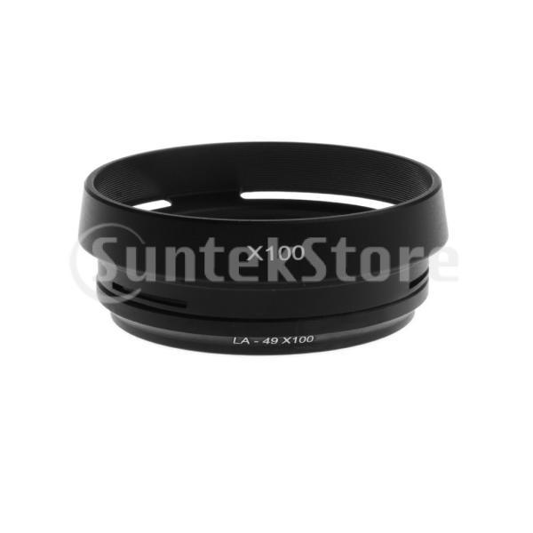フィルター アダプター レンズフード Fuji Finepix X100 X100s X100TカメラAR-X100適用 高性能 耐久性