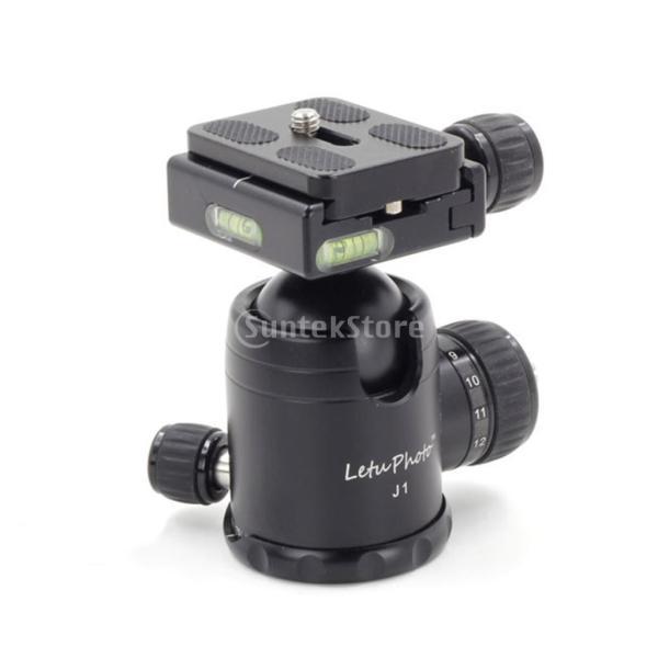 Dolity 1/4インチカメラに対応 アルミニウム クイック リリース プレート QR クランプ ブラケット ベース  交換性 便利性
